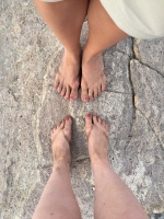 ALWAYS dirty feet