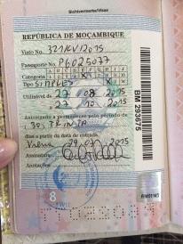 Visa for Mozambique