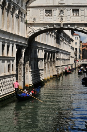 Sigh Bridge by Doge's Palace. Credit: Carmen Pölsler